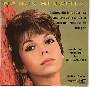 AN EP from around 1964. A brunette Nancy with fame just a step away...