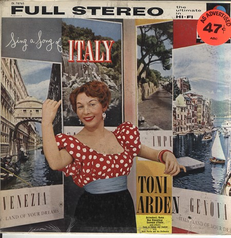 Another great album; On this Toni simply glows - the Italian way!