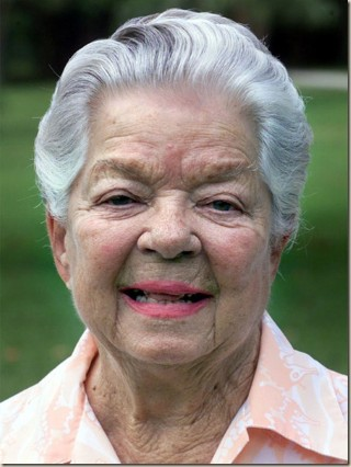 Frances Langford in the early 200's. Approaching her 90th birthday, she was still a sweetheart!