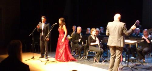 Gunda Marie Bruce & Kjetil Støa - fra en konsert i juni 2012 (foto: Stian M. Eriksen)