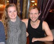 Lars Helge Throndsen og Marthe Stenerud Skeie (foto: Hadeland.net)