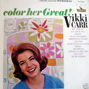 "Her first album, ""Color Her Great"" came out 1963"