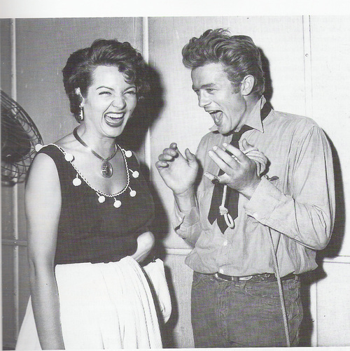 Sara in Hollywood. With her bubbling personality, she even made James Dean laugh!