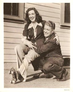 In the late 1930's, With Nelson Eddy