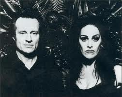 "John Paul Jones & Diamanda Galas, taking a break from ""The Sporting Life"""