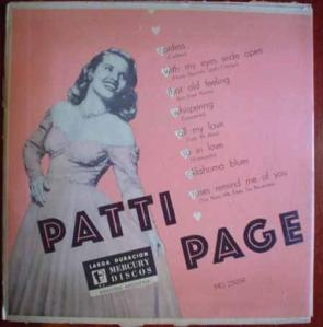 "A very early LP, this 10"" album collects her hits of the late 1940s"