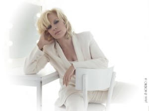 "From the ""soleil Bleu"" cover photo sessions; Sylvie at age 66 has both looks and talent still in Place!"