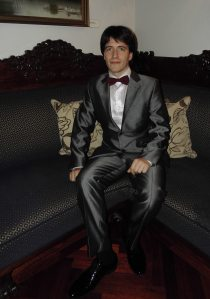 Leonid fotografert i forbindelse med en konsert