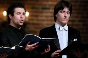 Didrik Solli-Tangen og Leonid på konsert