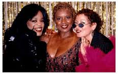 Pictured in the late 1990's: Evelyn King, Thelma Houston & Vicki Sue