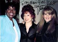 3 Disco Queens in one place: Gloria Gaynor, Vicki Sue & France Joli