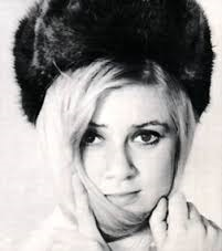 A blond beauty and some mink... An eternally successful combination, and here used for Gitte in the late 60's