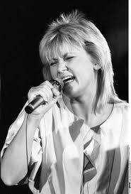 Gitte on stage in the late 1970's
