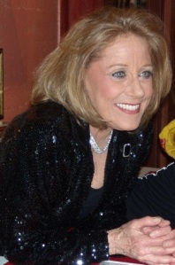 Lesley Gore pictured after a show in 2011