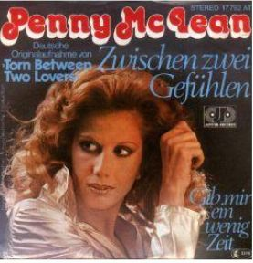Penny didn't sing just disco: This German single from 1977 Places her in a gentle ballad mood