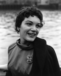 A young Connie in the late 1950s
